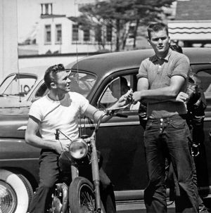 Two 1950s Youths
