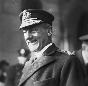 Admiral John Jellicoe (1859-1935) who commanded the British Grand Fleet at the Battle