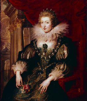 Anne of Austria (1601-1666) married Louis XIII of France 1615. Mother of ouis XIV