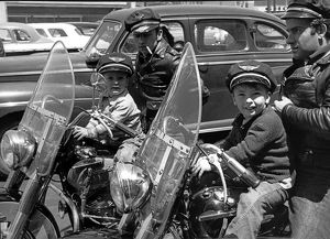 Bikers And Their Sons