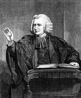 Charles Wesley (1707-88) English preacher and hymn writer. Brother of John Wesley