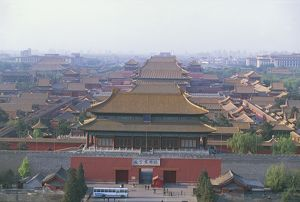 China - Beijing. Forbidden City. Imperial Palace (UNESCO World Heritage List, 1987)