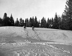 Cross Country Skiing In Quebec