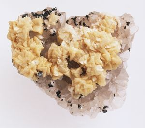 Dolomite in Quartz Groundmass