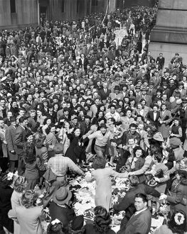 Early VE-Day On Wall Street