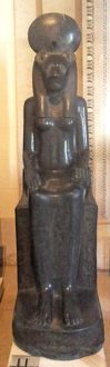 The God Sekhmet, from the reign of Amenhotep III. In Egyptian mythology, Sekhmet