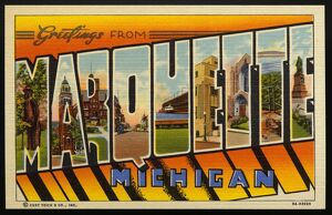 Greeting Card from Marquette, Michigan. ca