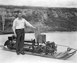 Inventor Of First Snowmobile