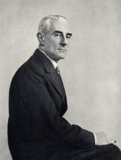 (Joseph) Maurice Ravel (1875-1937) French composer. After a photograph