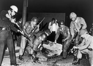 underwood archives/united states/la police fight black muslims