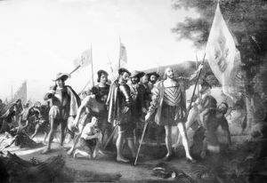 The Landing of Columbus