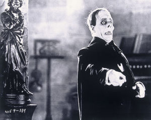Lon Chaney Sr in Phantom of The Opera, 1925