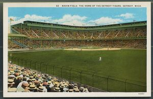 Navin Field. ca. 1925, Detroit, Michigan, USA, NAVIN FIELD, THE HOME OF THE DETROIT TIGERS