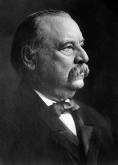 Portrait of Grover Cleveland