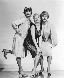 Publicity still for the Hollywood film Some Like It Hot (1959): Director and Producer