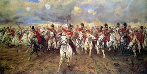 'Scotland for Ever'. The charge of the Scots Greys at Waterloo, 18 June 1815