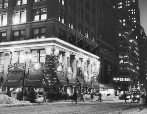 Sloane Department store at Christmas, New York City