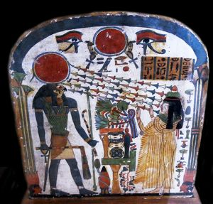 Stele of Lady Taperet Third Intermediate Period, 22nd Dynasty, 10th or 9th century