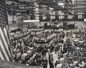 Trading floor, New York Stock Exchange, New York City
