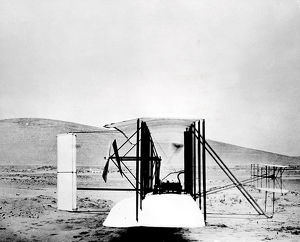 Wright Brothers 1903 flying machine, North Carolina